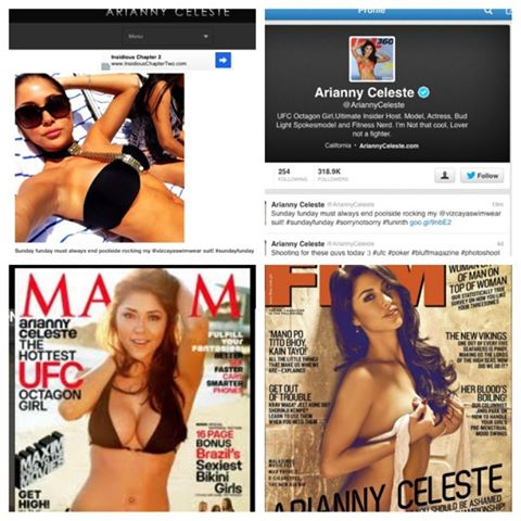 Maxim and FHM Cover girl loves her 'Monaco' by Vizcaya Swimwear!