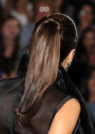 Eva-Longoria-Ponytail-Hair