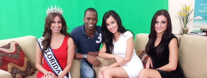 Our day at VSP Worldwide Productions and interview with Miss Florida 2013 UnitedStates