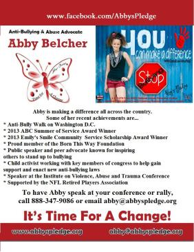 Abby press release rally