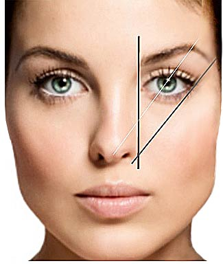 brow outlining