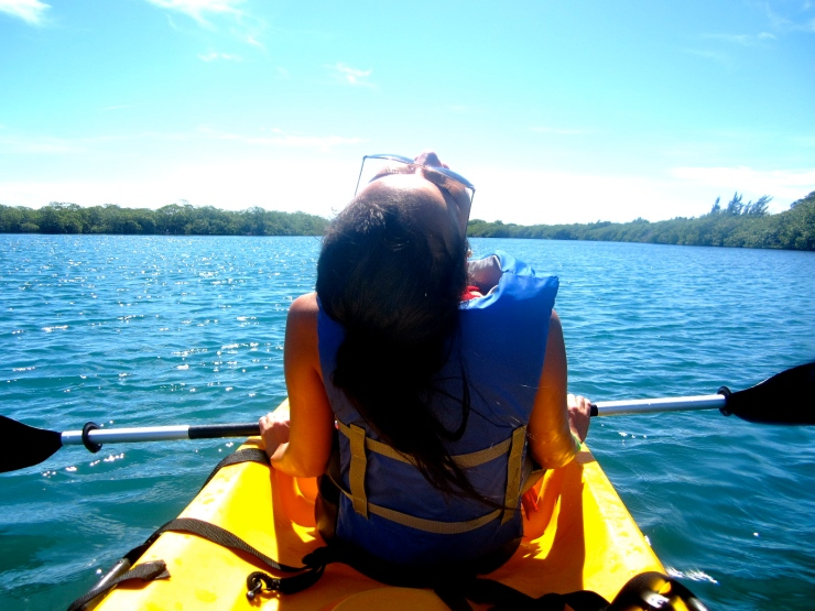Kayaking is awesome and a great work out for your back!