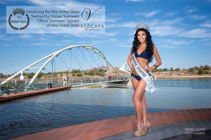 Miss United States Bikini Vizcaya Swimwear