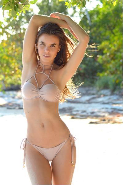 Vizcaya Swimwear Cage Neck Bikini