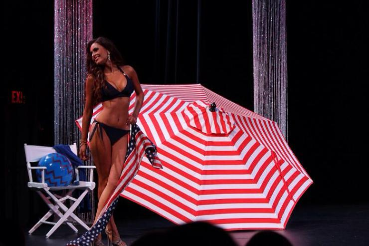 Miss Florida United States tia mcdonald vizcaya swimwear