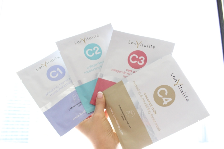 Love Your Skin With LonVitalite: Face & Eye Mask Review