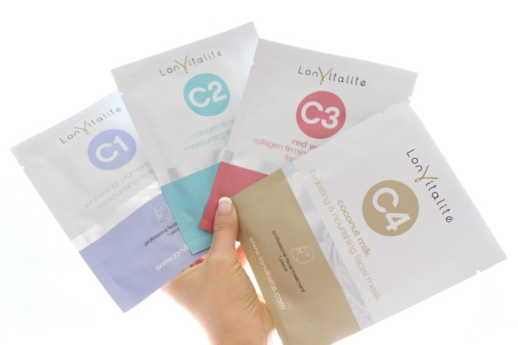 Lonvitalie skin face mask review blog ladycode