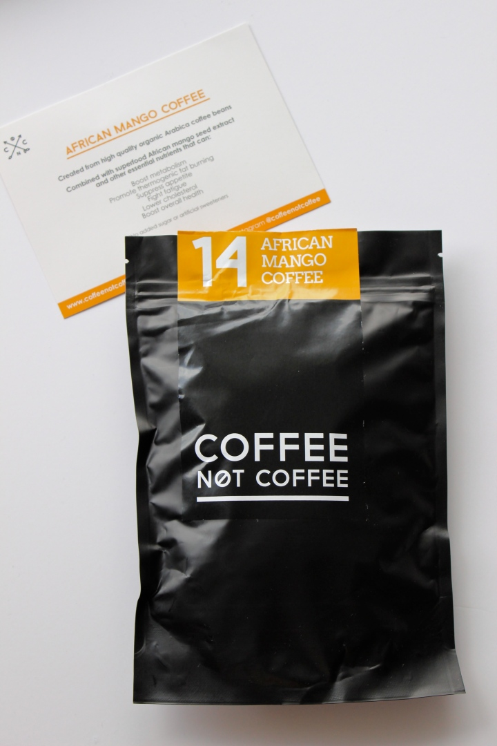 coffee not coffee arican mango coffee review