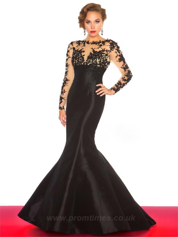 2015 Prom Crop Top Dress Promtines UK -003