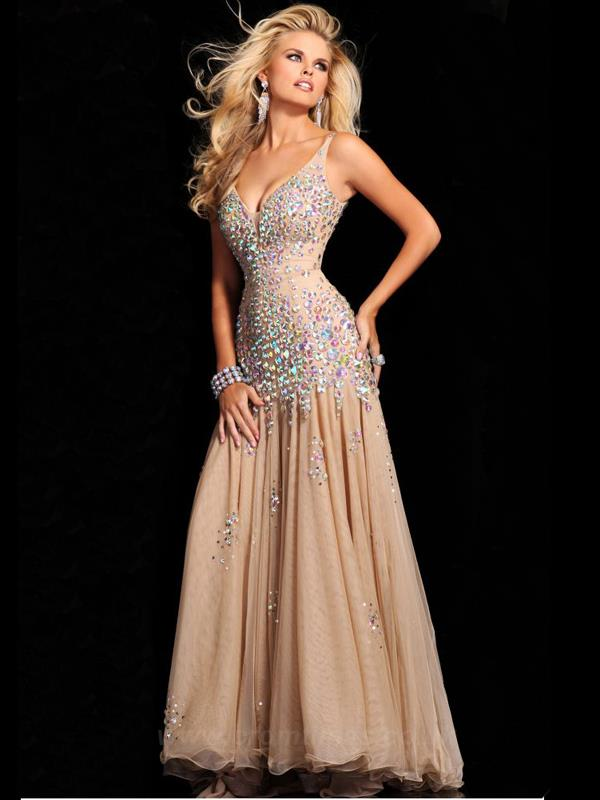 2015 Prom Crop Top Dress Promtines UK -02