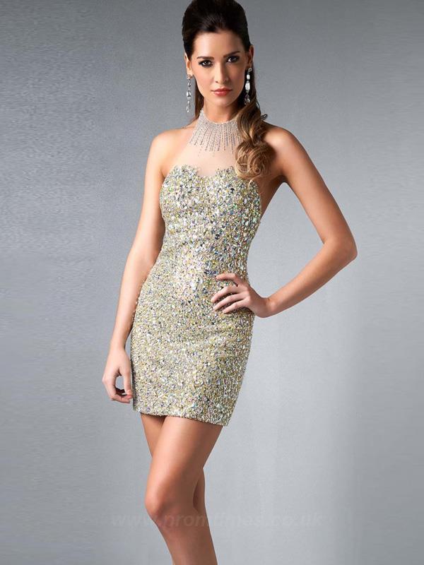 2015 Prom Crop Top Dress Promtines UK -04