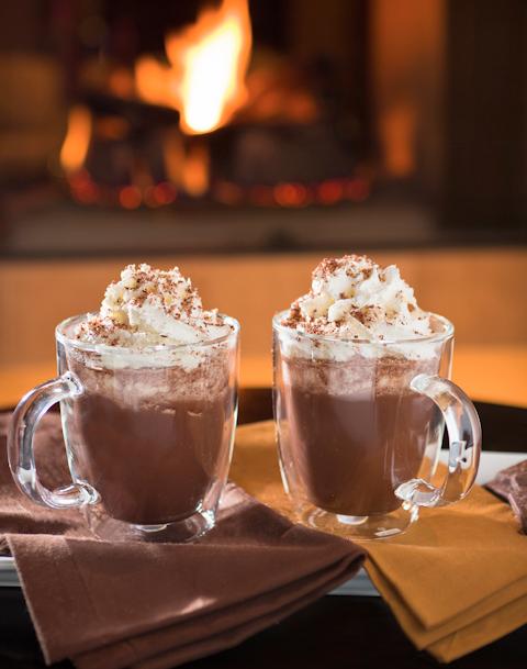 ladycode - hot chocolate warm winter day