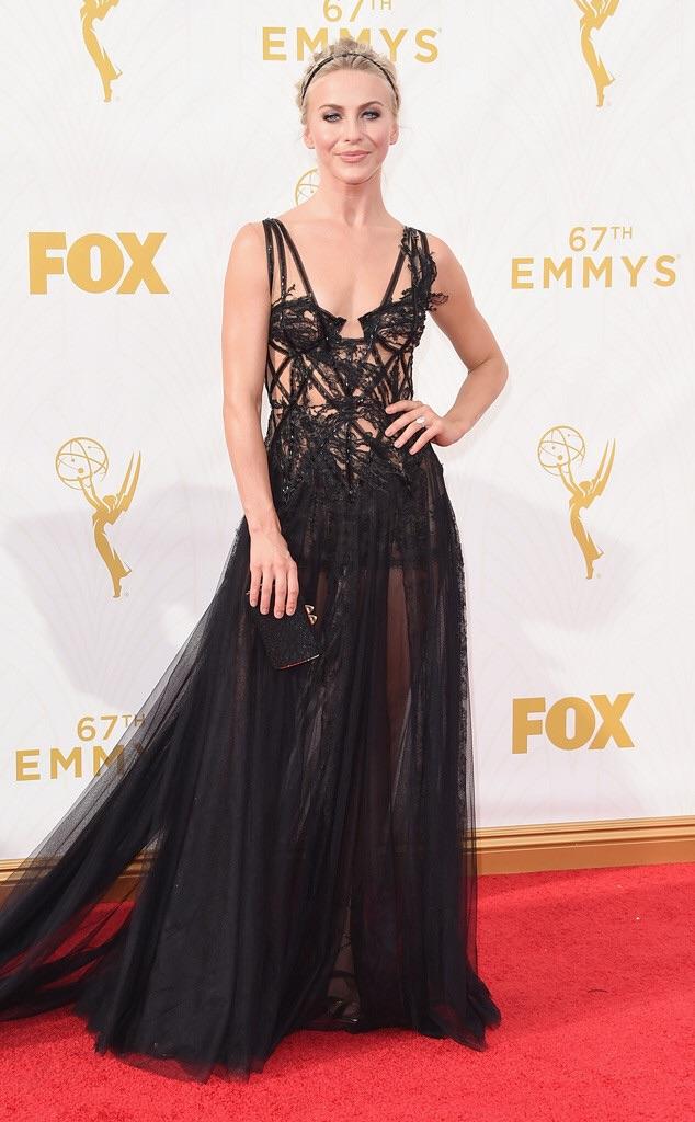julianne hough red carpet 2016 emmy best dressed