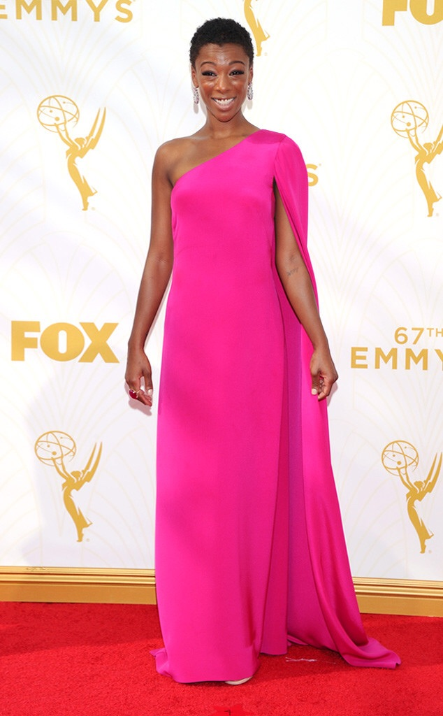Samira Wiley emmy red carpet 2016 orange is the new black