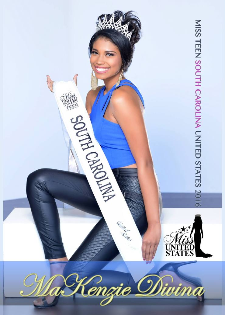 miss teen south carolina makenzie divina