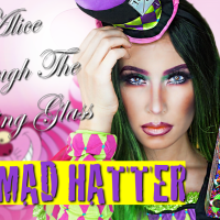 Urban Decay Alice Through The Looking Glass Palette: The Mad Hatter Quad Review + Tutorial
