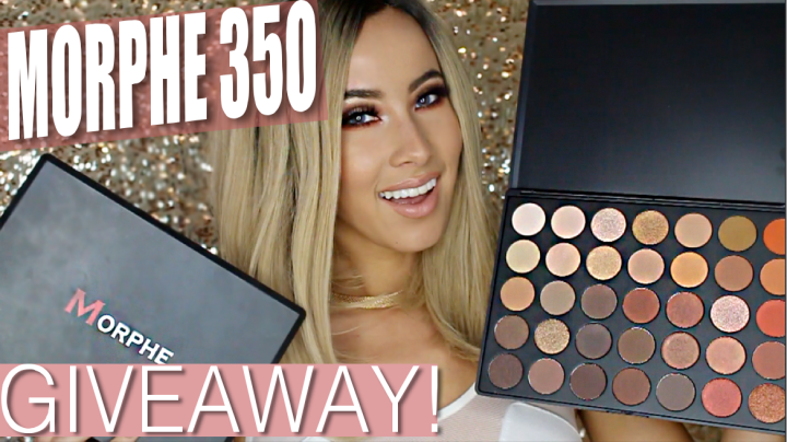 Morphe 35O Beauty Giveaway!