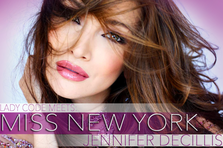 MEET MISS NEW YORK UNITED STATES 2016: JENNIFER DECILLIS