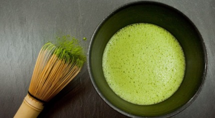 matcha and green tea