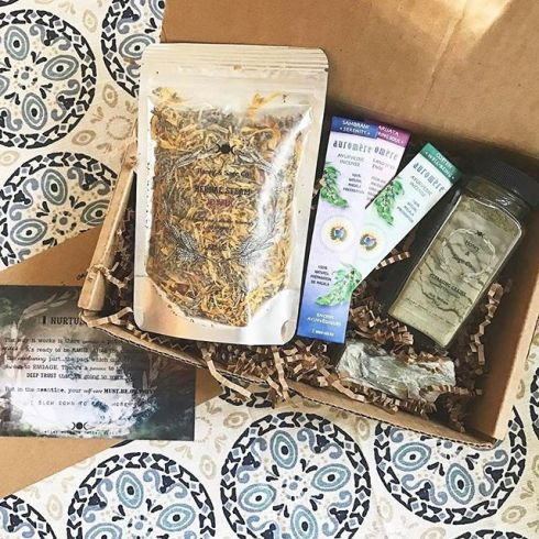 Honey and Sage care package