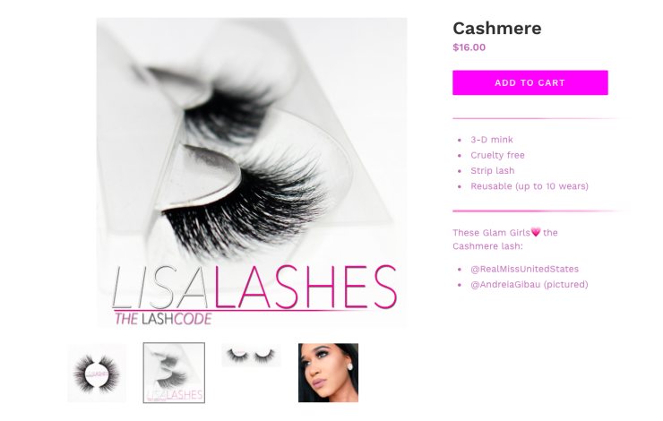 lisa lashes