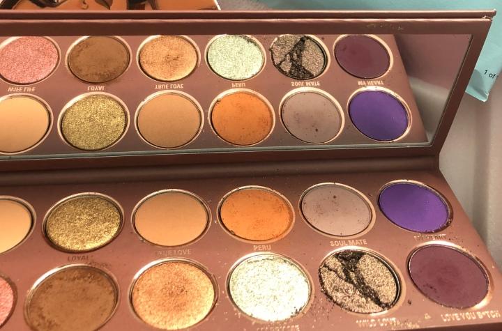 Kylie x Jordyn Eyeshadow Palette Review & First Impressions: IT CAMEBROKEN!