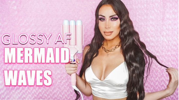 Kim Kardashian Inspired Glass Mermaid Waves: ALL THE TEA!